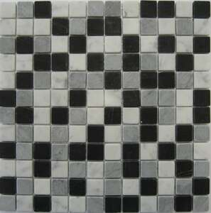 Image produit MOSAIQUE 30X30/2.5X2.5 BARWOLF  BLACK GREY WHITE AM-0011