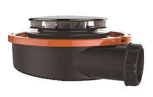 Image produit BONDE EXTRA-PLATE RECEVEUR Ø90 MM, FLUSH 44L/MN, CAPOT INOX Ø115 MM, H 60 MM - 57670000000