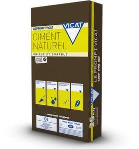 Image produit SAC 25 KGS CIMENT PROMPT VICAT